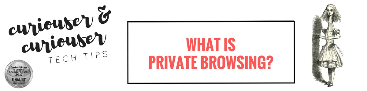 What is private browsing and why would I use it?