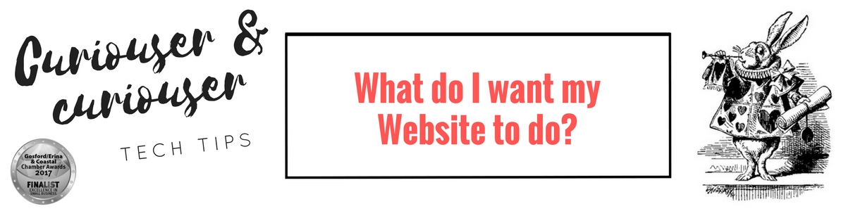 Working out what you should have on your website